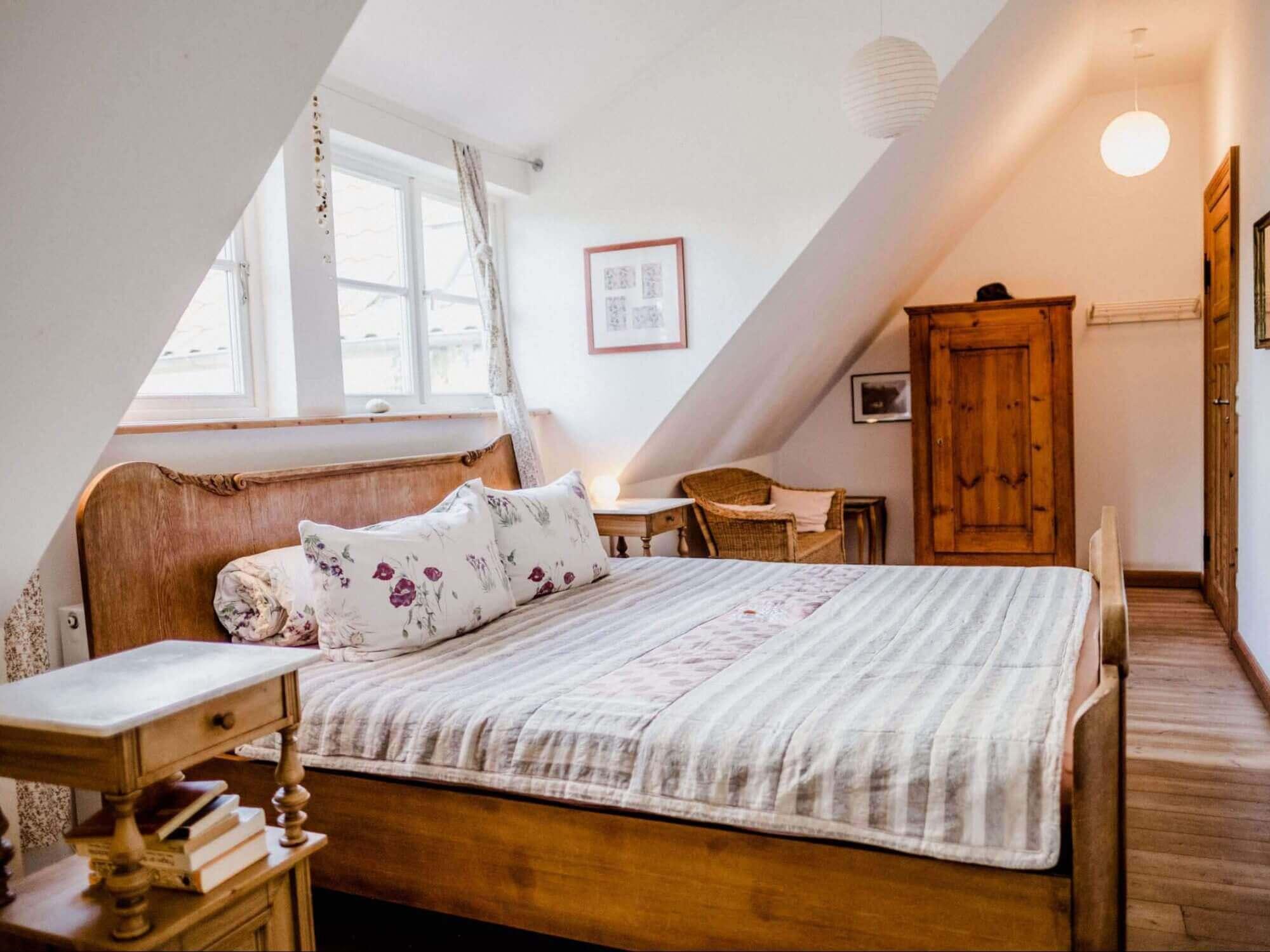 Zimmer Holunder - Urlaub im Gutshaus Ehmkendorf in Mecklenburg Vorpommern