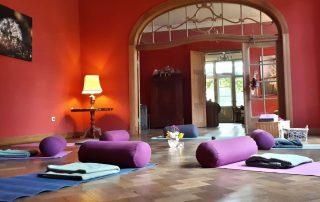 Yogaurlaub und Fastenurlaub im Gutshaus Ehmkendorf in Mecklenburg Vorpommern