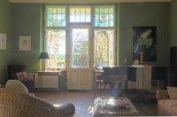 Gutshaus Ehmkendorf - der grüne Salon