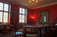 Gutshaus Ehmkendorf - der rote Salon